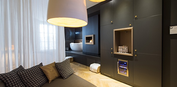 chambre d'hotel connectee
